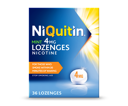 NiQuitin Lozenges mint 4mg