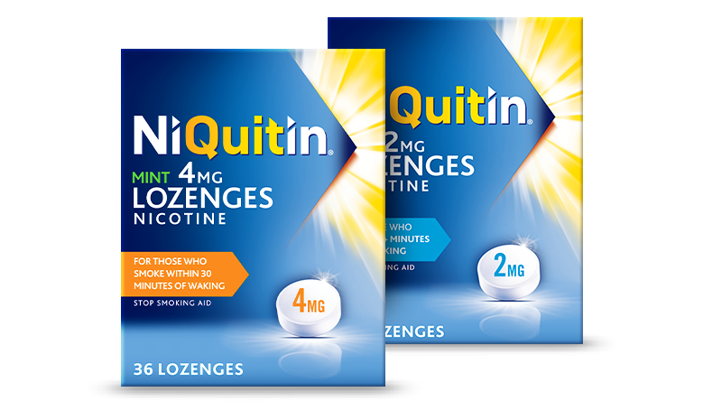 NiQuitin Lozenges mint