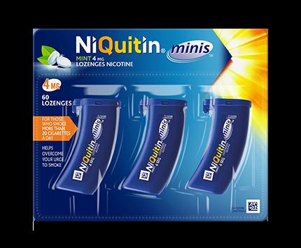 NiQuitin mini lozenges 4mg
