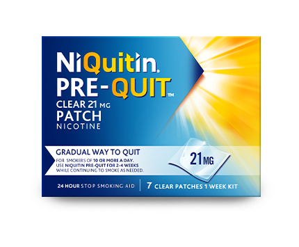 NiQuitin Patch Pre-Quit - Help you to quit smoking