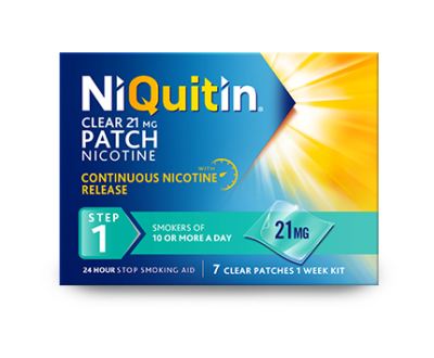 NiQuitin Patch Step 1 - Help you to quit smoking