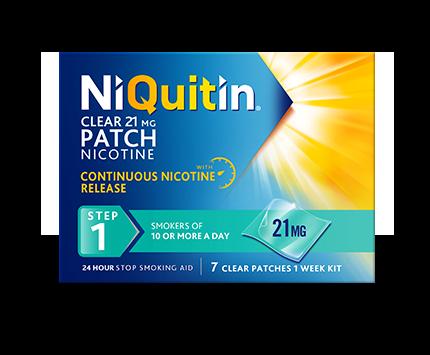NiQuitin® Pre-Quit Clear Patch